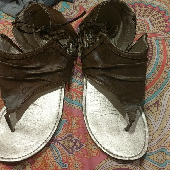 Maurices Shoes - Brown Sandles